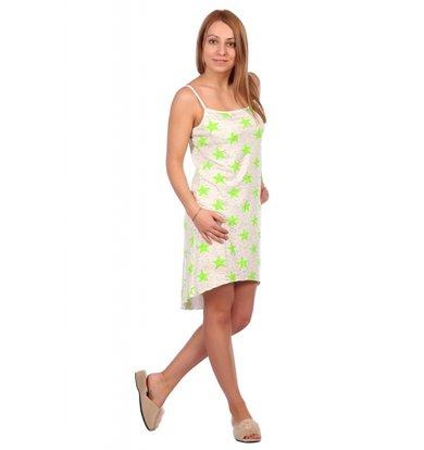 Жен. сорочка арт. 16-0456 Зеленый р. 54