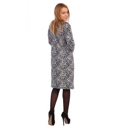Жен. платье арт. 16-0462 Антрацит р. 60