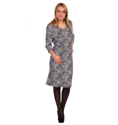 Жен. платье арт. 16-0462 Белый р. 60