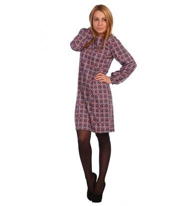Жен. платье арт. 16-0466 Красный р. 46