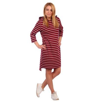 Жен. платье арт. 16-0460 Бордовый р. 58