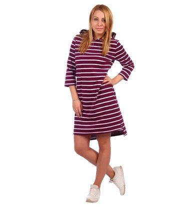Жен. платье арт. 16-0460 Фиолетовый р. 58