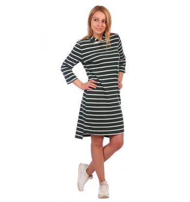 Жен. платье арт. 16-0460 Зеленый р. 58