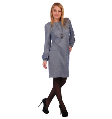 Жен. платье арт. 16-0464 Голубой р. 46
