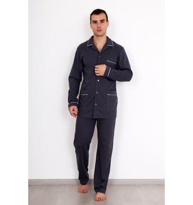 """Муж. пижама """"Комфорт"""" Серый р. 46"""