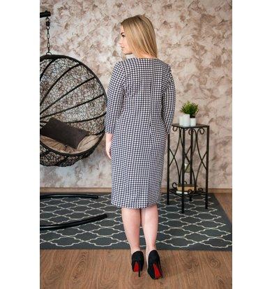 Жен. платье арт. 19-0243 Серый р. 42