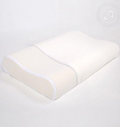 """Подушка """"Memory Foam Pillow Белый"""" р. 40х60"""