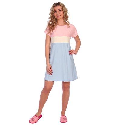 """Жен. платье """"арт. 16-0380 Розовый"""" р. 54"""