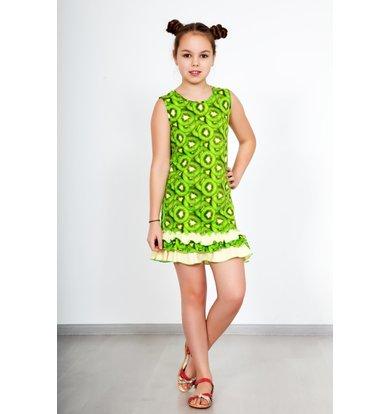 """Дет. платье """"Витаминка"""" Зеленый р. 36"""