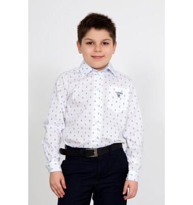 """Дет. рубашка """"Идон"""" Белый р. 30"""