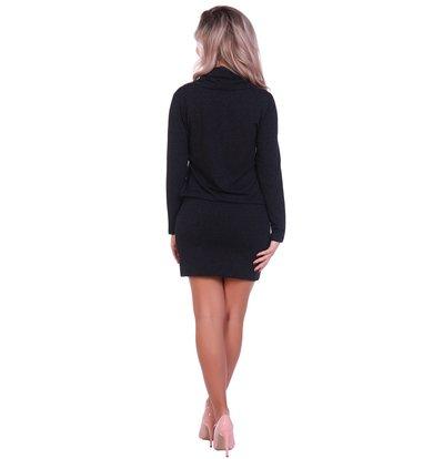Жен. платье арт. 16-0695 Черный р. 42