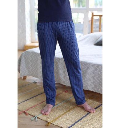 Муж. брюки арт. 18-1072 Синий р. 62