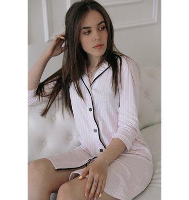 """Жен. платье """"Пастила"""" Розовый р. 54"""