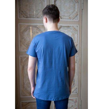 "Муж. футболка ""Артур"" Синий р. 58"