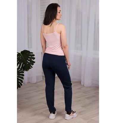 Жен. брюки арт. 19-0249 Синий р. 54