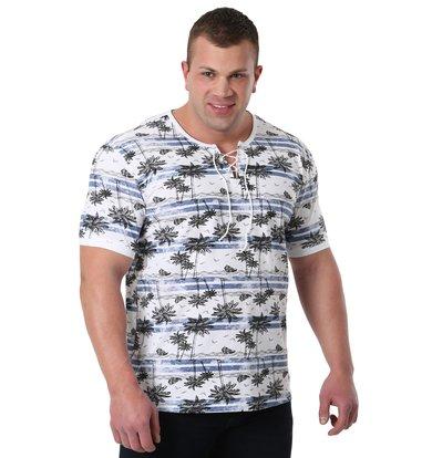 """Муж. футболка """"Майами"""" Синий р. 44"""