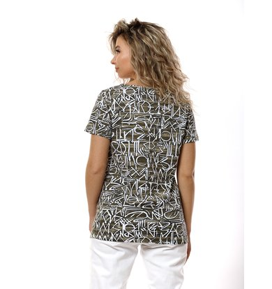 Жен. футболка арт. 16-0764 Хаки р. 60