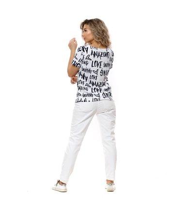 Жен. футболка арт. 16-0766 Белый р. 44