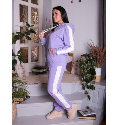 Жен. костюм арт. 17-0194 Лаванда р. 42