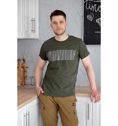 """Муж. футболка """"Джулиан"""" Хаки р. 58"""