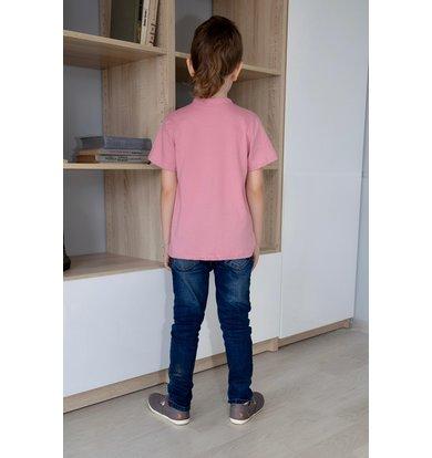 """Дет. футболка """"Женя"""" Розовый р. 32"""