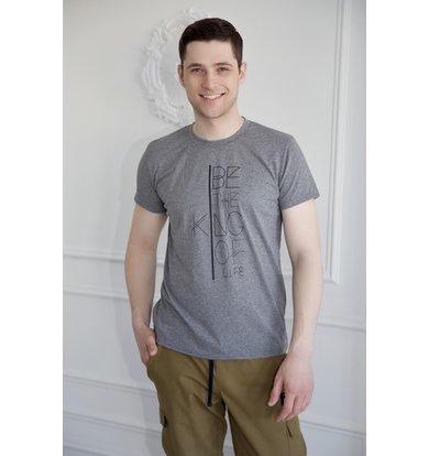 """Муж. футболка """"Конрад"""" Серый р. 48"""