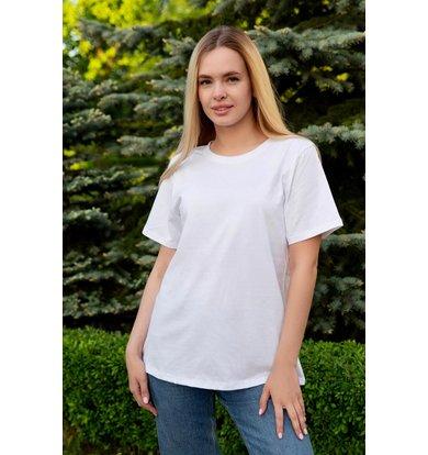 "Жен. футболка ""Базовая"" Белый р. 48"