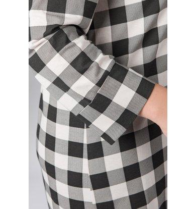 Жен. рубашка арт. 19-0063 Бежевый р. 56