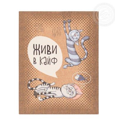 """Набор полотенец """"Кошачьи тайны"""" Серый р. 45х60"""