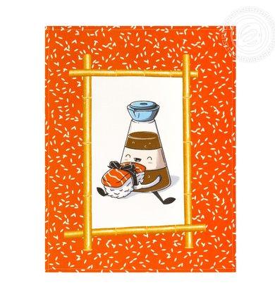 """Набор полотенец """"Васаби"""" Разноцветный р. 45х60"""